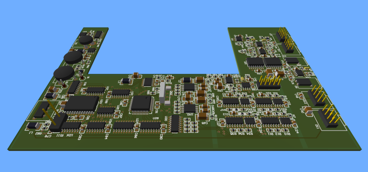 Rendered PCB image