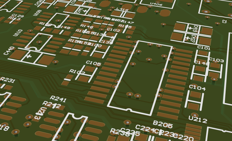 PCB View - different rendering options 2